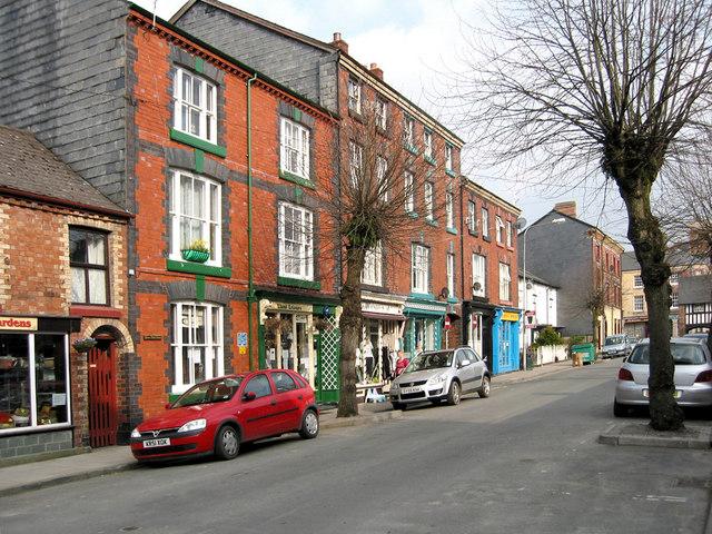 Short Bridge Street, Llanidloes