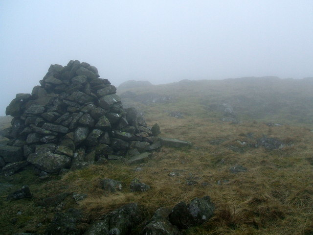 Large cairn near top of Woodend Height
