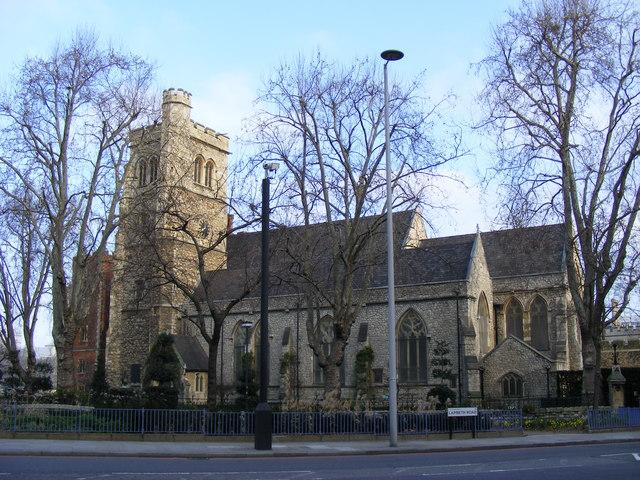 St Mary-at-Lambeth Parish Church