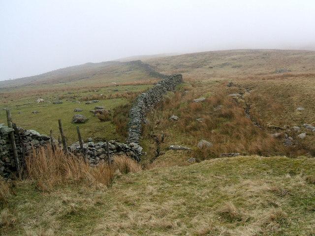 Wall on Ulpha Fell