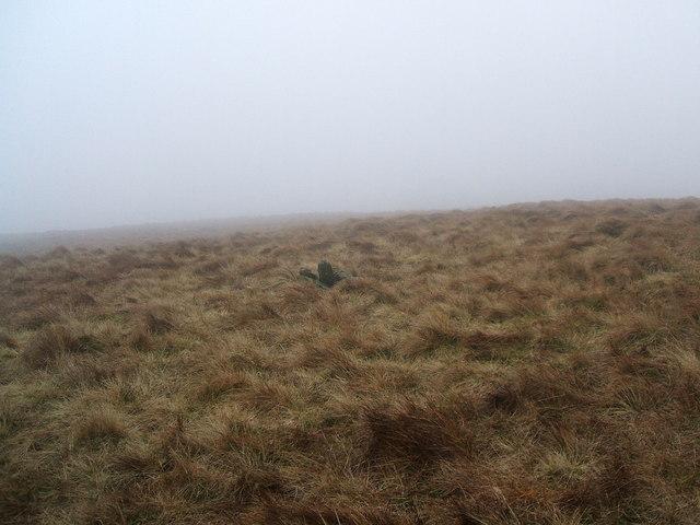 Cairn on Hesk Fell