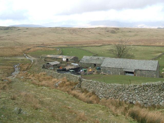 Woodend farm buildings