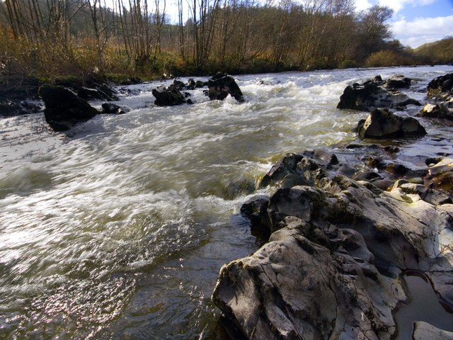 River Nith Near Eliock Wood