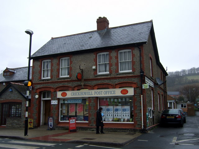 Crickhowell post office