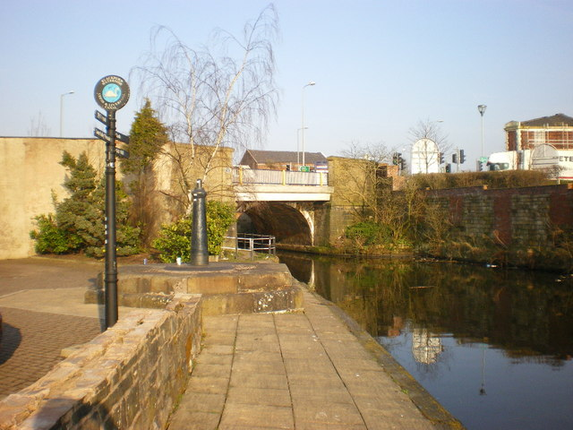 Navigation Bridge on the Leeds and Liverpool Canal