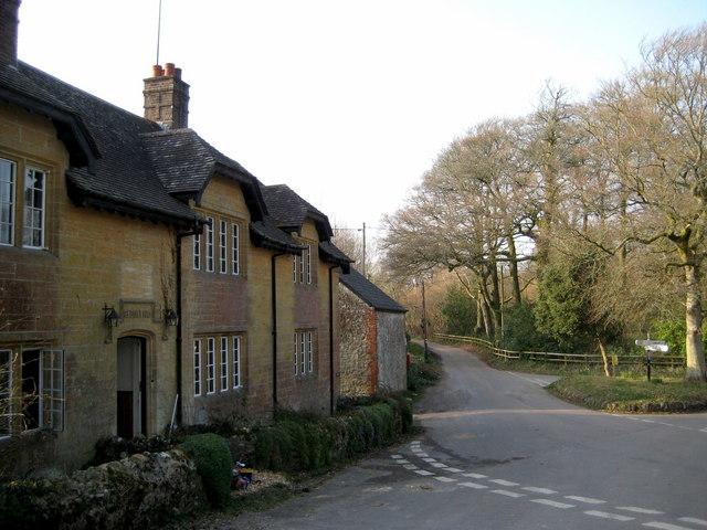 The former Tiger's Head pub - Rampisham