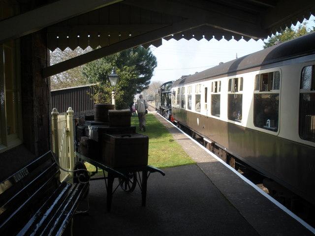 Nostalgia, at Dunster Station
