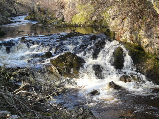Falls on the Berriedale Water