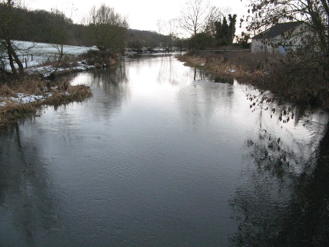 River Kennet by Chamberhouse Farm, Thatcham