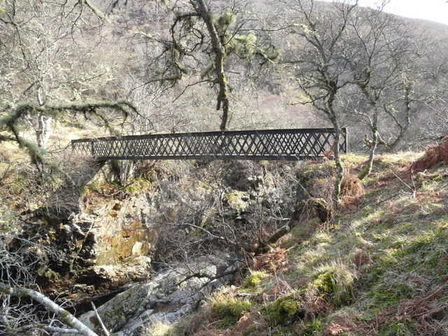Footbridge over the Berriedale Water