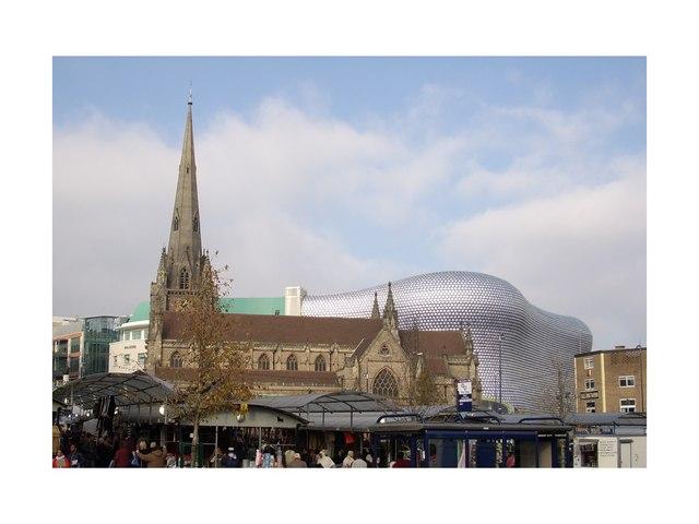 St Martins Church, Bull Ring, Birmingham