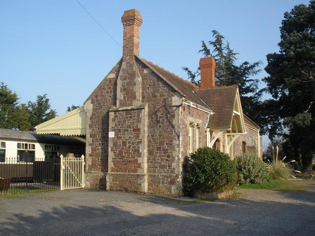 Station building, Dunster