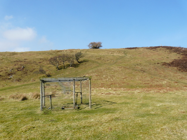 Disused bird trap, Srath Cuil