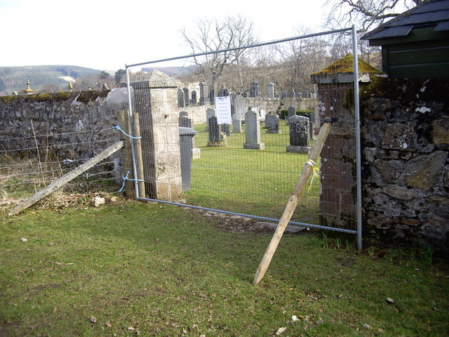 Gateway to Walla Kirkyard