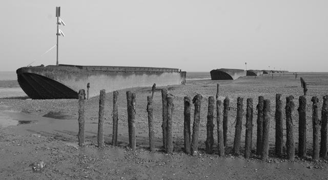 Coastal protection near Bradwell