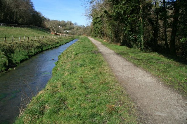 St Austell River and Pentewan Railway trail