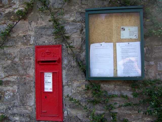 Postbox, Upper Vobster
