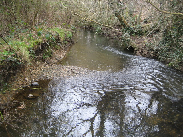 Bull Brook in Warfield