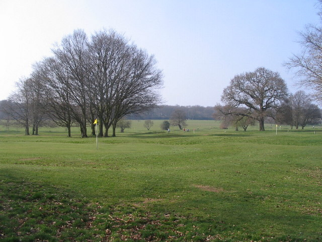 Golf course, Memorial Park