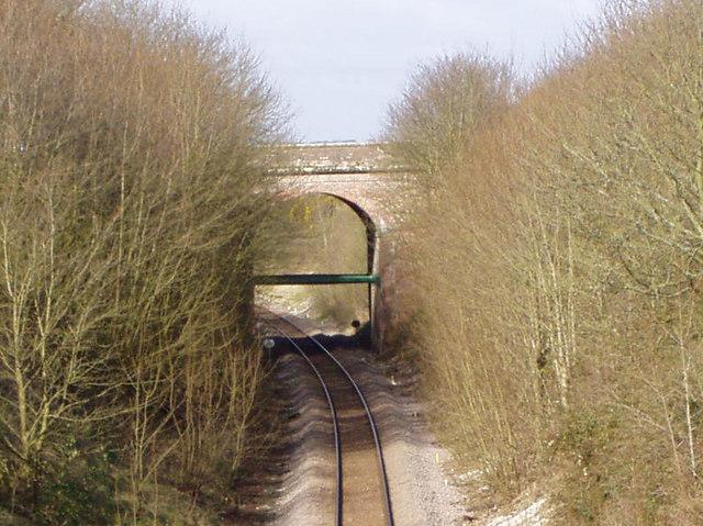 Railway Bridge Near Eastfield Farm