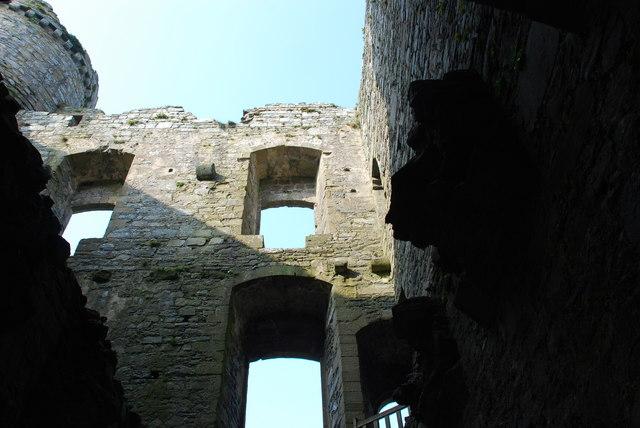 Castell Harlech Y Porth Mewnol - Inner Gatehouse