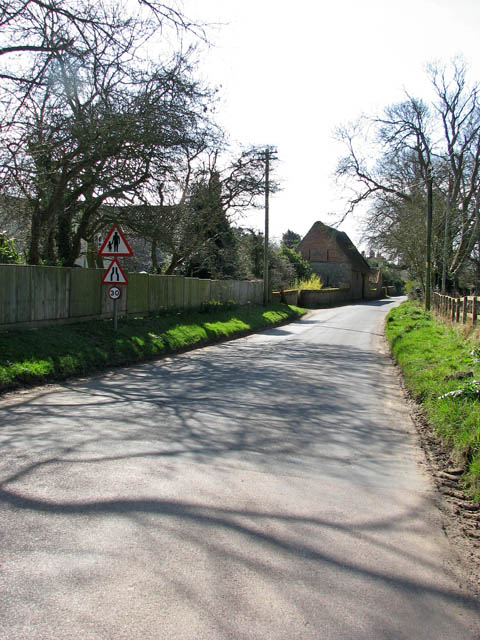 Approaching the village of Gimingham