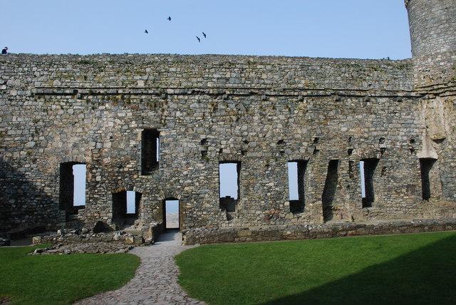 Castell Harlech Y Ward Mewnol - Inner Ward