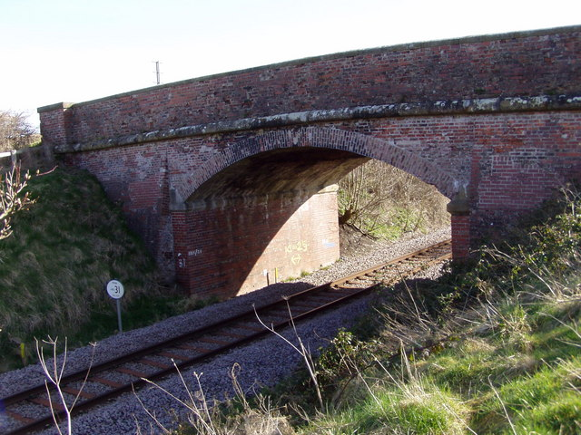 Railway Bridge on North Burton Lane
