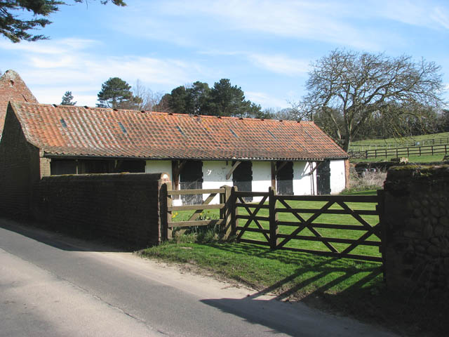 Stables and paddocks
