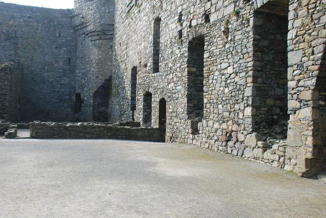 Castell Harlech Y Neuadd Fawr - Great Hall