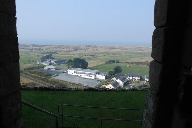 Castell Harlech Y Ward Allanol - Outer Ward