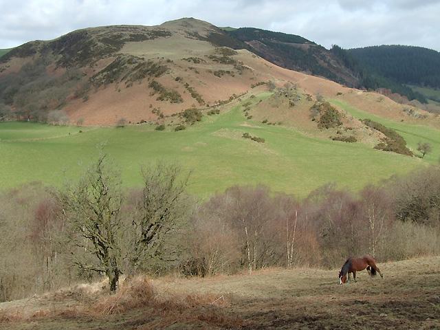 Across Cwm Mynach, Ceredigion