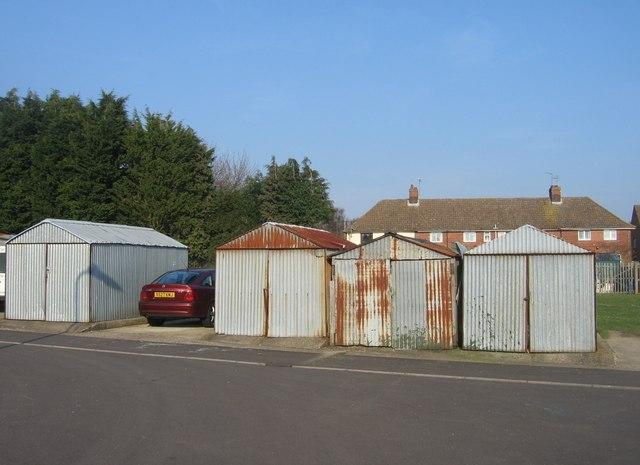 Rusty garages