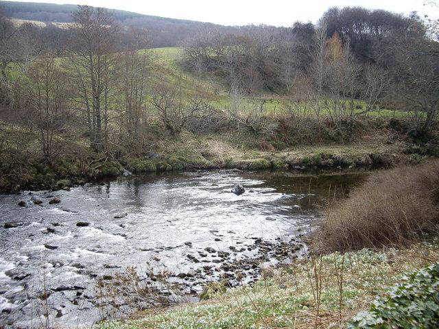 Upstream River Deveron