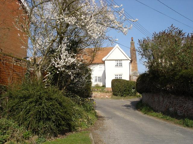 Hall Lane, Witnesham
