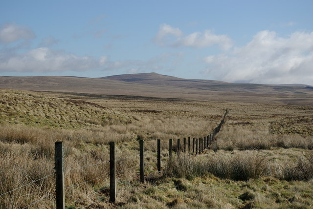 Moorland east of Pennel Burn