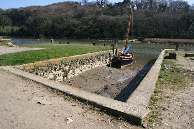 Docks at Cotehele Quay