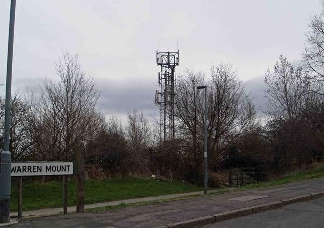 Telecoms mast Wood Mount, Kimberworth