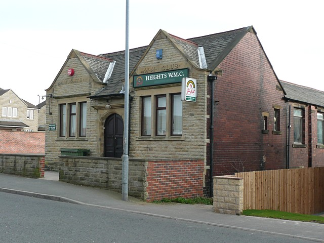 Heights Working Men's Club, Halifax Road, Liversedge