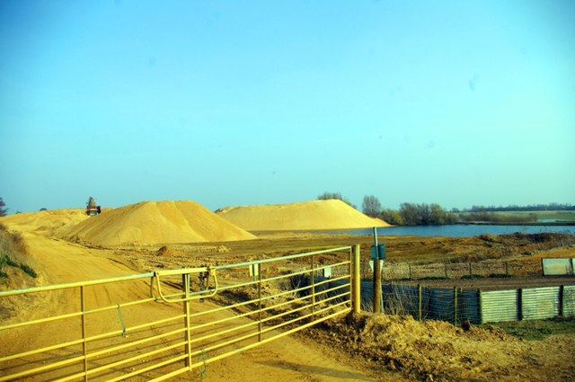 Sand and gravel pits
