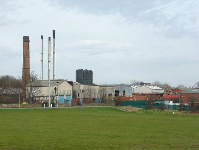 Disused factories, Miry Lane, Hightown, Liversedge