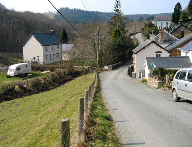 The little village of Aberhosan