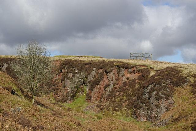 Site of Auchenlongford hematite mine