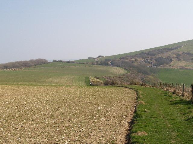 Footpath from Range Walks