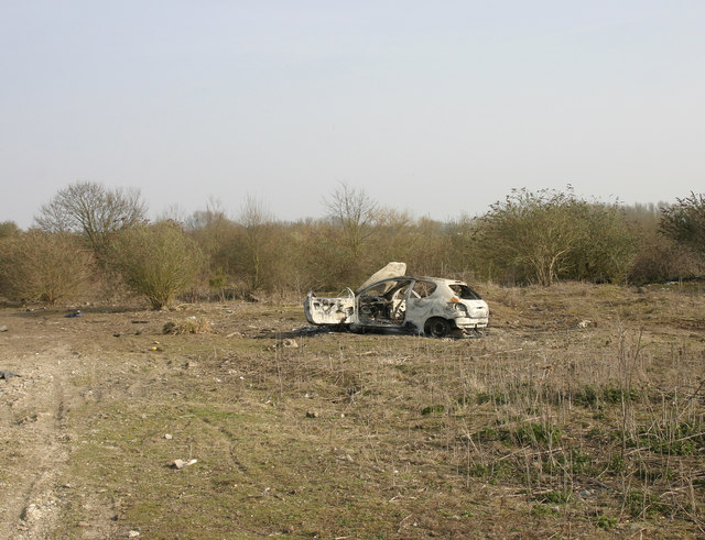 Covered landfill site near Grand Union Canal, Yiewsley