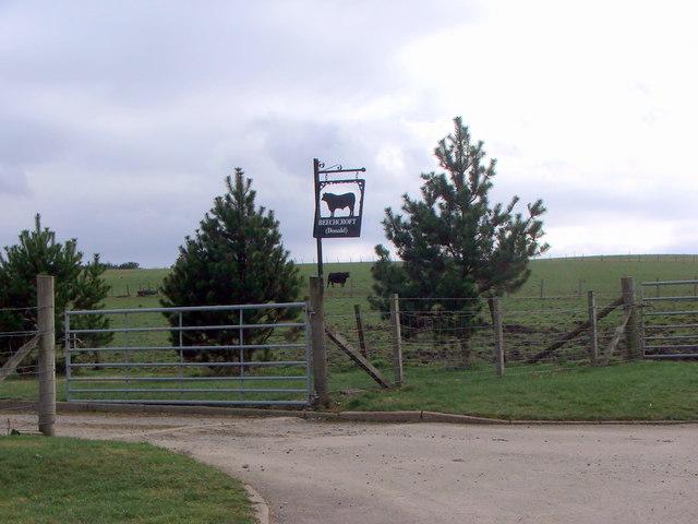 Sign for Beechcroft Farm