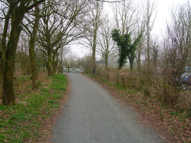 Cycleway in Cuerden Valley Park