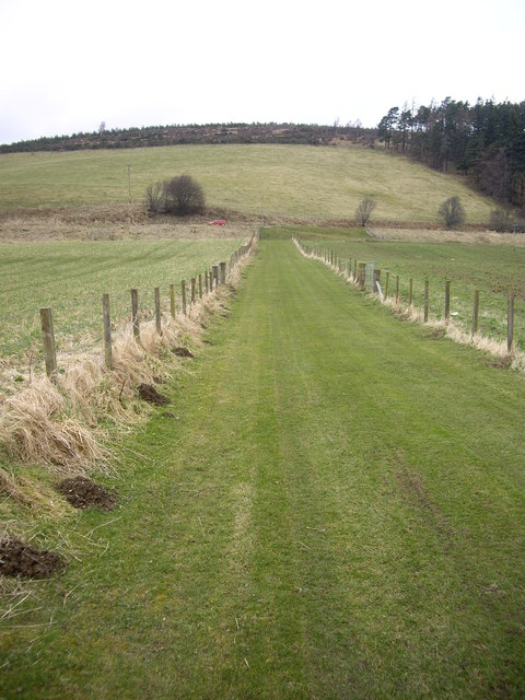 The green lane from Walla Kirkyard