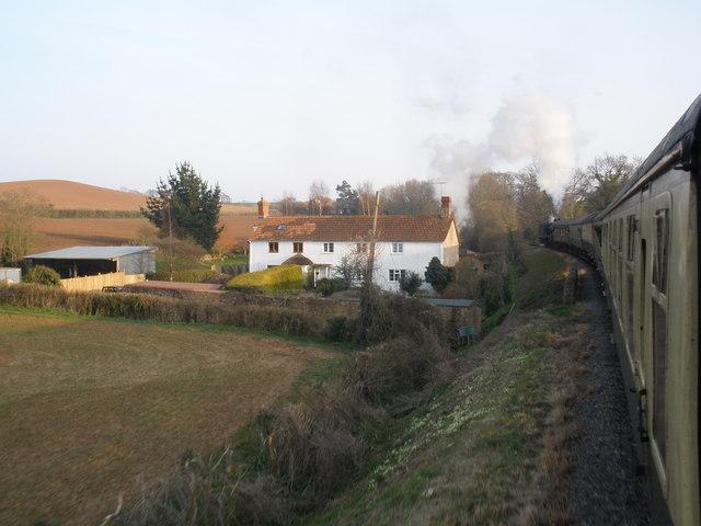 Cottages, near Bilbrook