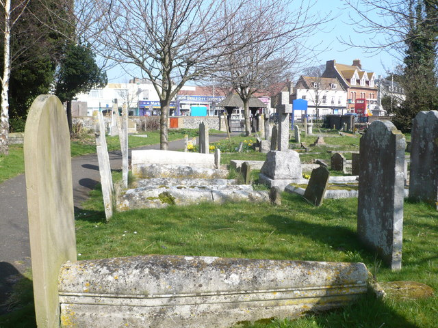 Churchyard of All Saints Church Birchington